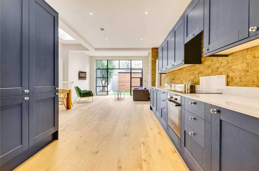 open plan kitchen bi-folding doors home extension