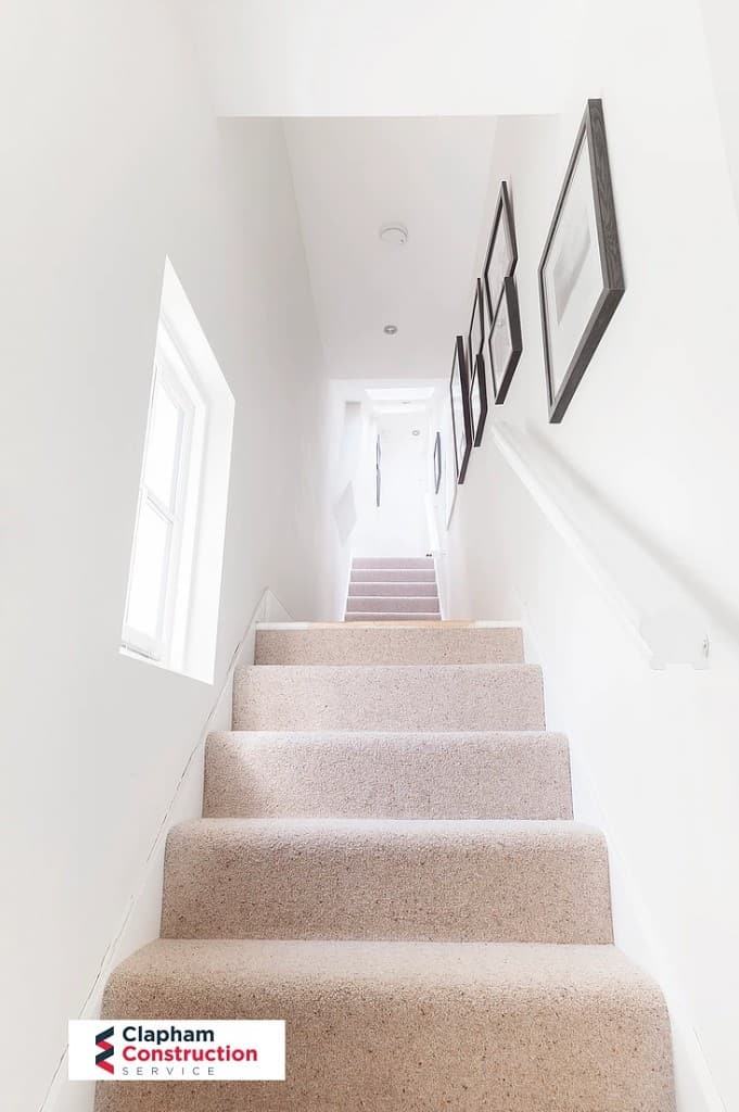 staircase of completed loft conversion