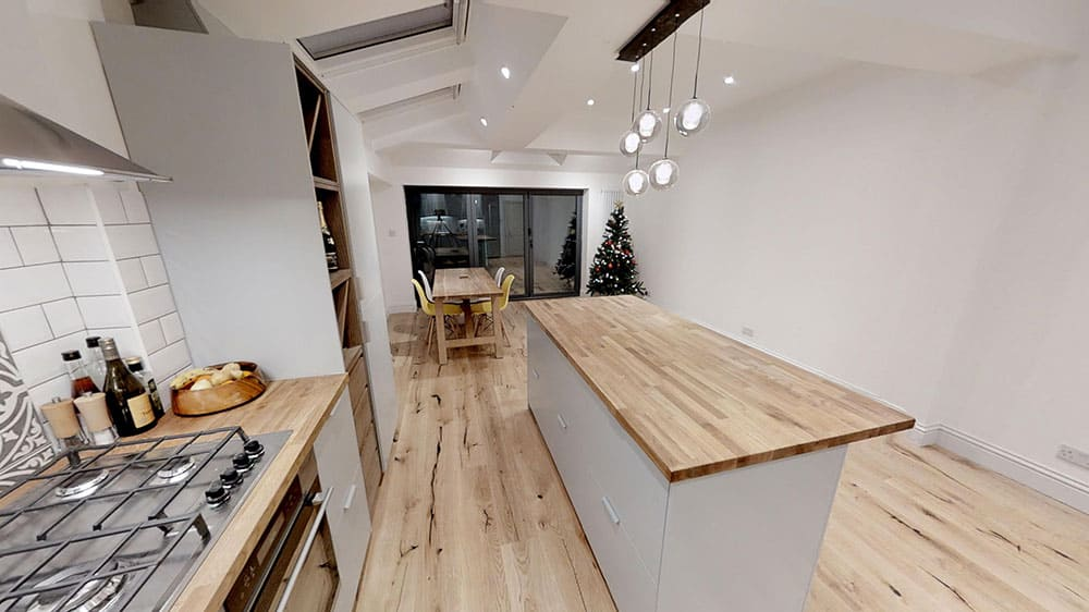 home extension kitchen diner completed