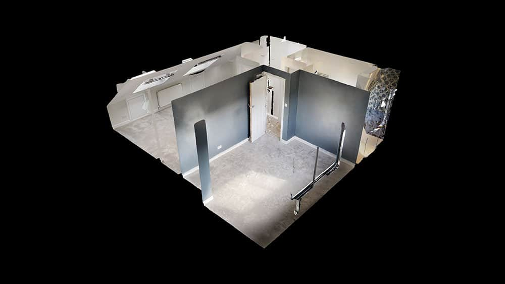 3d drawings of loft conversion layout