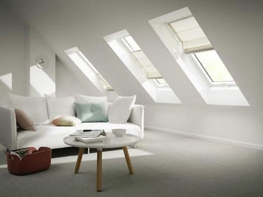 Completed interior of loft conversion