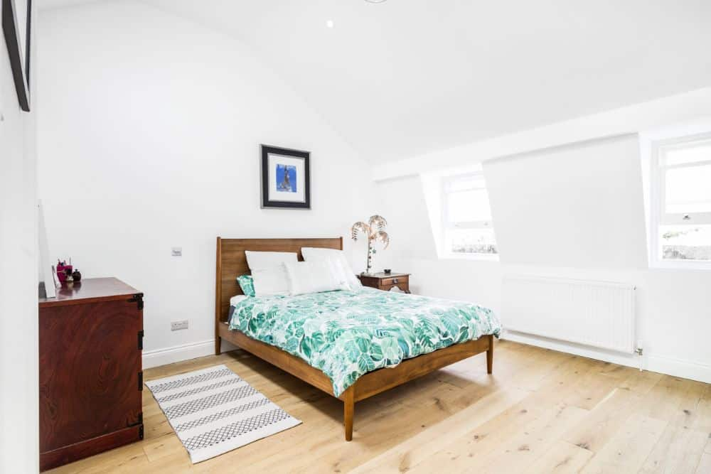 Bedroom In Converted Attic Space